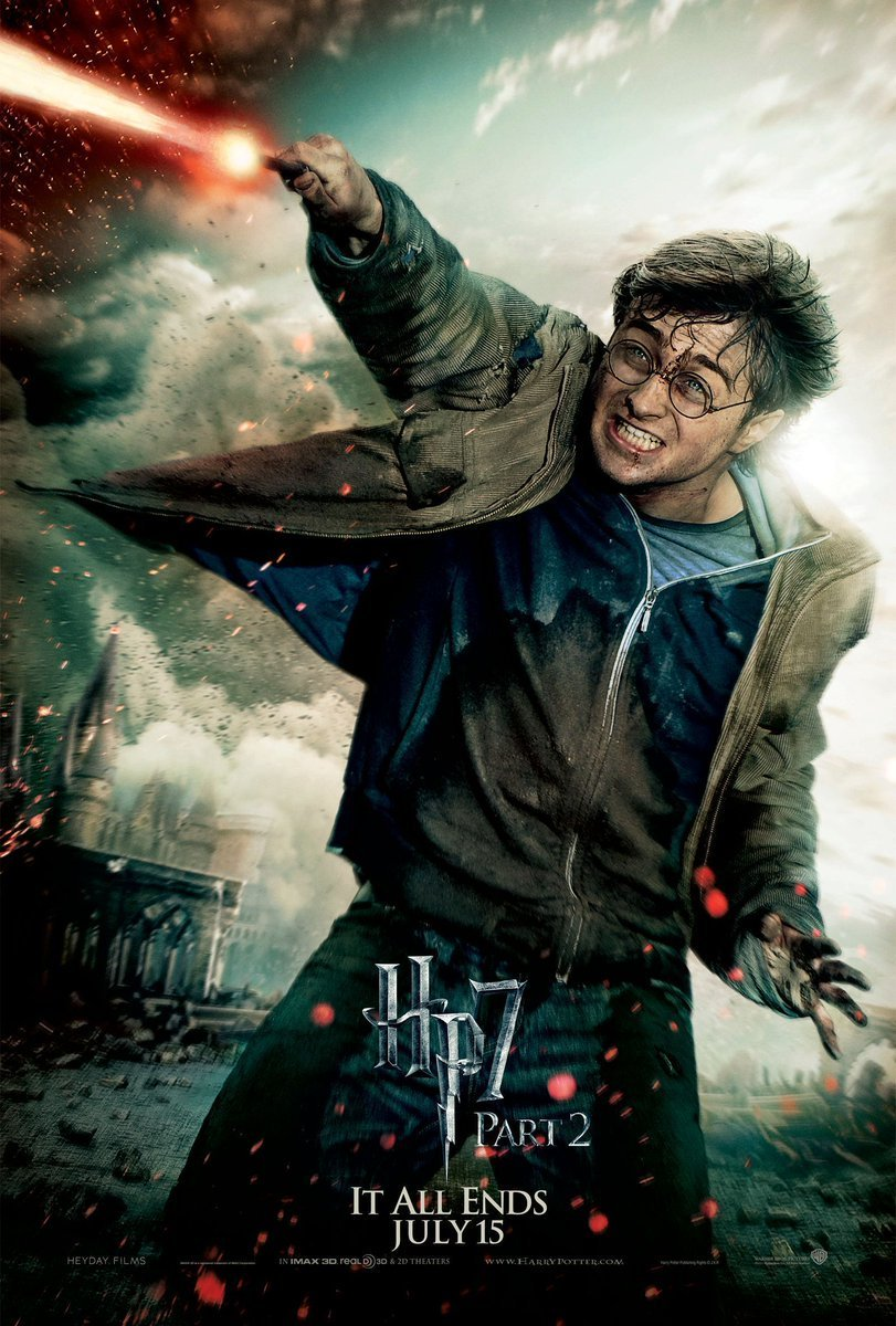 Harry Potter 8 and the Deathly Hallows: Part 2 (2011) แฮร์รี่ พอตเตอร์กับเครื่องรางยมทูต ภาค 8