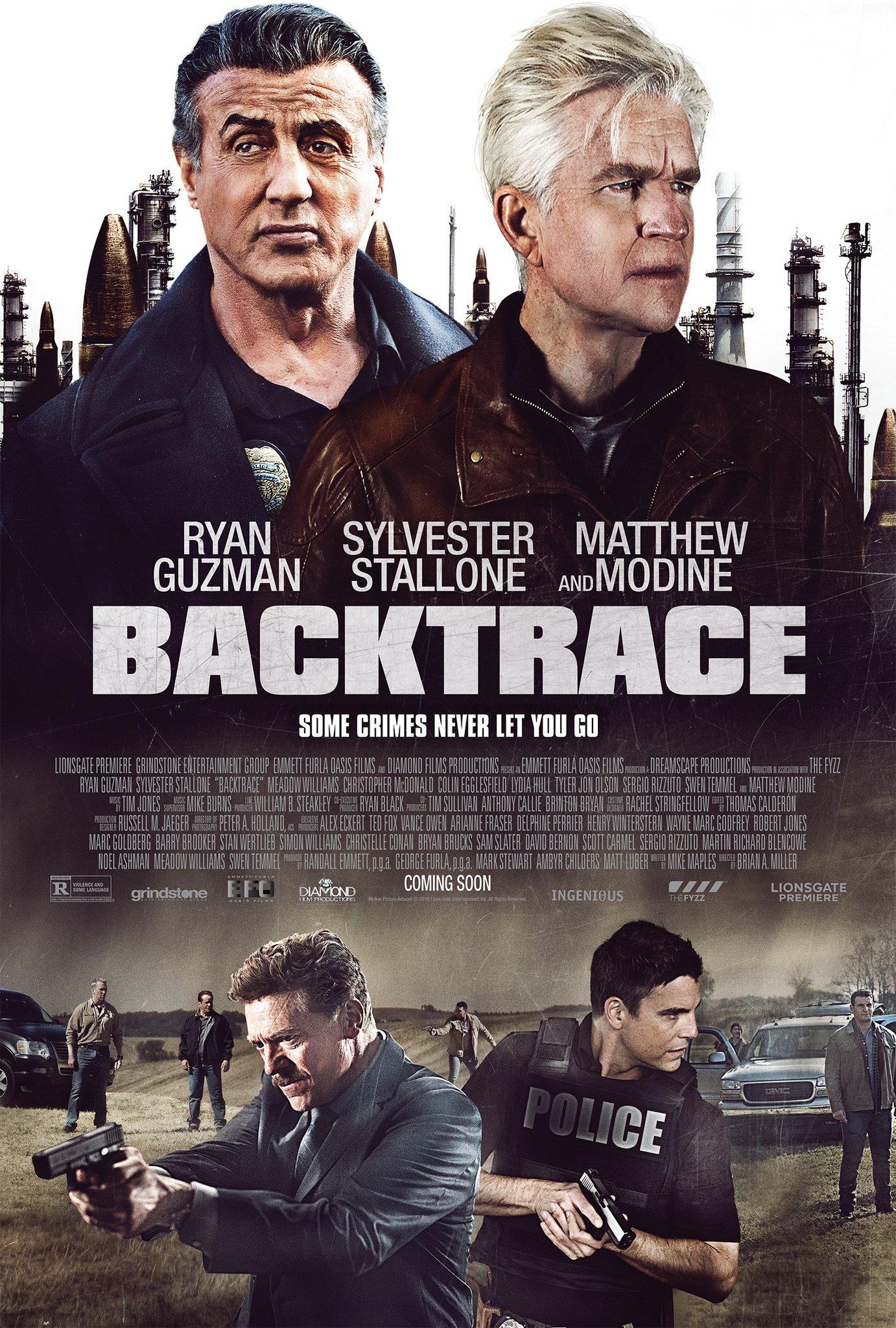 Backtrace (2018) ย้อนรอยปมปริศนา