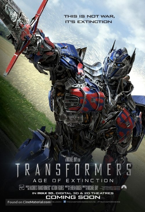 Transformers 4: Age of Extinction (2014) ทรานส์ฟอร์เมอร์ส มหาวิบัติยุคสูญพันธุ์