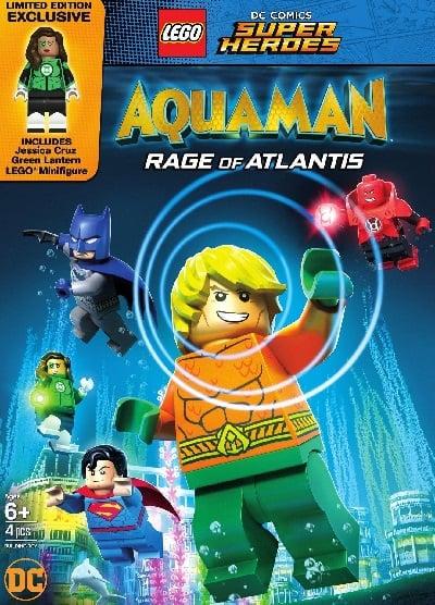 LEGO DC Comics Super Heroes: Aquaman – Rage of Atlantis (2018) เลโก้ DC อควาแมน เจ้าสมุทร