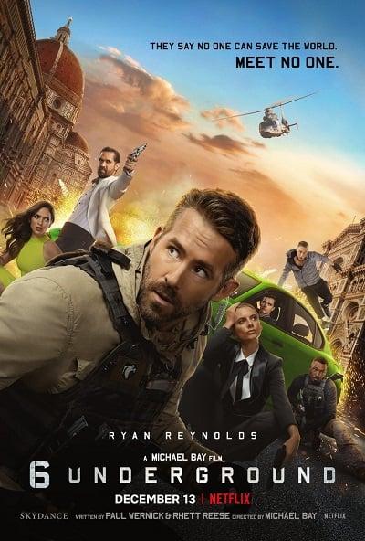 6 Underground | Netflix (2019) 6 ลับ ดับ โหด