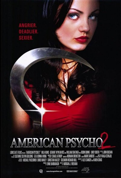 American Psycho II All American Girl (2002) อเมริกัน ไซโค 2 สวยสับแหลก