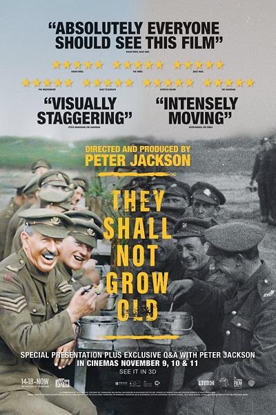 They Shall Not Grow Old (2018) พวกเขาจะไม่โตขึ้น