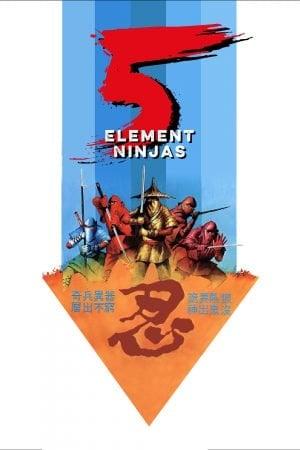 Five Element Ninjas (1982) จอมโหดไอ้ชาติหินถล่มนินจา